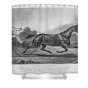 Horse Racing, 1857 Shower Curtain
