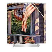 Hot August Night Shower Curtain