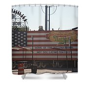 Hot Dog Eating Contest Shower Curtain