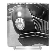 Hot Rod Grill Shower Curtain