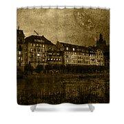 Hotel Schiff Shower Curtain by Ron Jones