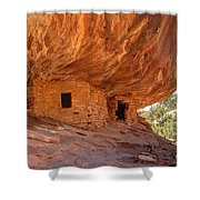 House On Fire Anasazi Indian Ruins Shower Curtain