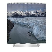 Hubbard Glacier Encroaching On Gilbert Shower Curtain