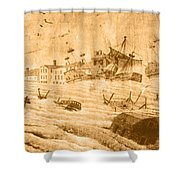 Hurricane, 1815 Shower Curtain by Science Source