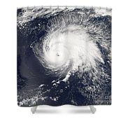 Hurricane Gordon Shower Curtain