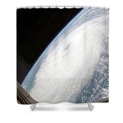 Hurricane Helene Shower Curtain