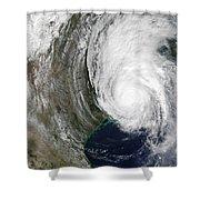 Hurricane Lili Shower Curtain