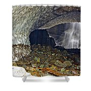 Ice Caves Shower Curtain