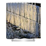 Ice Storm Shower Curtain