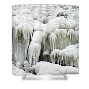 Icicles Shower Curtain