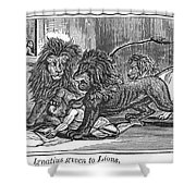 Ignatius Of Antioch (c35-110) Shower Curtain by Granger