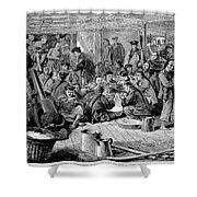 Immigrants: Chinese, 1876 Shower Curtain by Granger