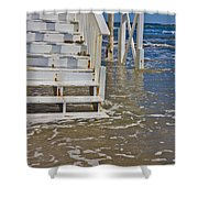 Incoming Tide Shower Curtain
