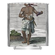 Indian Percussive Rattle Shower Curtain