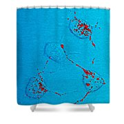 Infectious Prion Protein Shower Curtain by Science Source