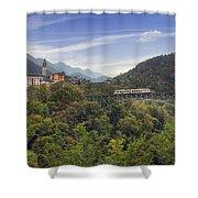 Intragna - Ticino Shower Curtain