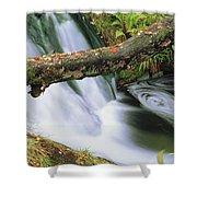Ireland Waterfall Shower Curtain