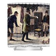 Irish Land League, 1881 Shower Curtain