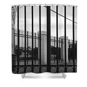 Iron And Pillars Shower Curtain
