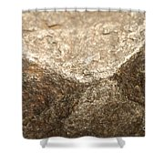 Iron-nickel Meteorite Shower Curtain