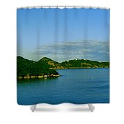 Island Paradise Shower Curtain
