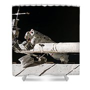 Iss Maintenance Shower Curtain