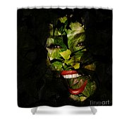 Ivy Glamour Shower Curtain