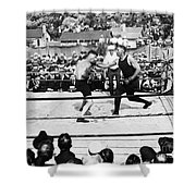 Jack Dempsey (1895-1983) Shower Curtain