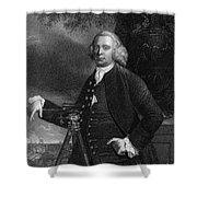 James Brindley (1716-1772) Shower Curtain
