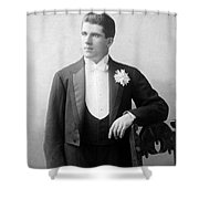 James J. Corbett Shower Curtain