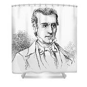 James K. Polk (1795-1849) Shower Curtain