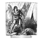 James P. Beckwourth Shower Curtain
