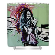 Janis Shower Curtain