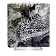 January 2, 2009 - Cloud Simulation Shower Curtain