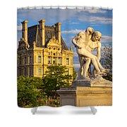 Jardin Des Tuileries Shower Curtain