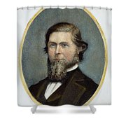 Jay Cooke (1821-1905) Shower Curtain