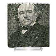 Jean Baptiste Dumas, French Chemist Shower Curtain