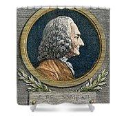 Jean Philippe Rameau Shower Curtain