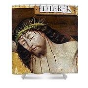 Jesus: Crucifixion Shower Curtain
