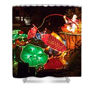 Jiang Tai Gong Fishing Shower Curtain