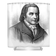 Johann Heinrich Pestalozzi, Swiss Shower Curtain