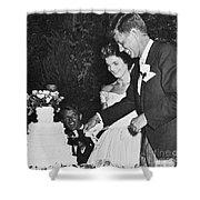 John F. Kennedy (1917-1963) Shower Curtain