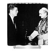 John F. Kennedy Shower Curtain