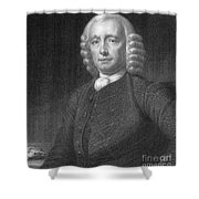John Harrison, English Inventor Shower Curtain