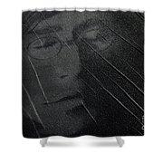 John Lennon Shower Curtain