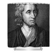 John Locke, English Philosopher, Father Shower Curtain