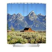 John Moulton Barn - Grand Teton National Park Shower Curtain