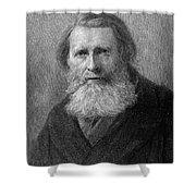 John Ruskin (1819-1900) Shower Curtain