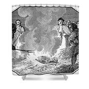 John Wycliffe (1320?-1384) Shower Curtain