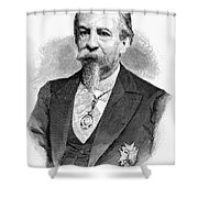 Jos� Zorrilla Y Moral Shower Curtain by Granger